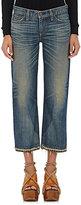 Simon Miller Women's Parker Wide-Leg Crop Jeans-BLUE