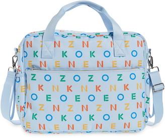 Kenzo Logo Canvas Diaper Bag
