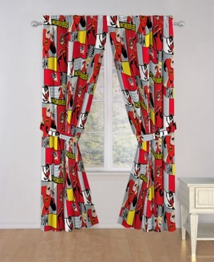 "Disney Pixar The Incredibles 2 Super Family 84"" Drapes Bedding"