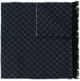 Canali frayed woven scarf