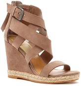 Sole Society Kova strappy suede wedge