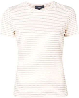 Theory Shima striped T-shirt