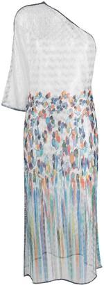 Missoni Mare Asymmetric Sheer Beach Dress