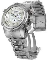 Invicta Men's Bolt 12729 - Stainless Steel/White Chronograph Watches