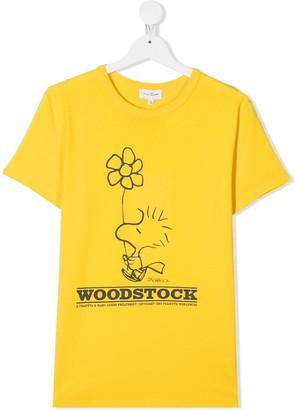 Little Marc Jacobs TEEN logo print T-shirt