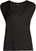 Isabel Marant Maik scoop-neck T-shirt