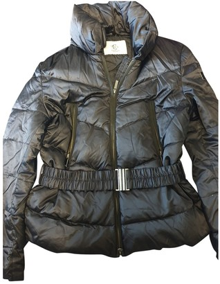 Cerruti Black Polyester Coats