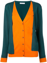 J.W.Anderson double layer cardigan - women - Wool - XS