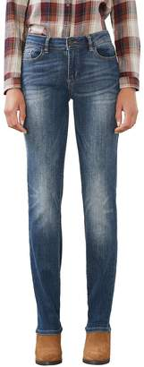 Esprit Women's MR Straight Jeans