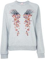 Giamba 'eyes' print sweatshirt