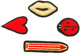 Rykiel Enfant badges brooch