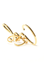 Lanvin Cool Double Ring