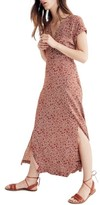 Madewell Women's Woodblock Floral Maxi Dress