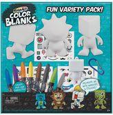 Mega Bloks Rose Art Color Blanks Variety Pack