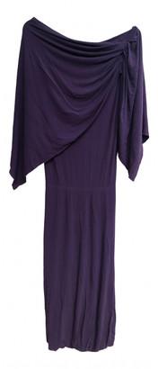 Louis Vuitton Purple Synthetic Dresses