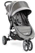 Baby Jogger City Mini® 3-Wheel Single Stroller in Steel/Grey