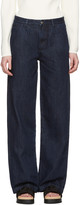 Edit Blue Mens Jeans