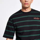 Mens Only and Sons Black stripe T-shirt