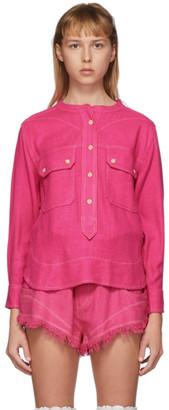 Isabel Marant Pink Tecoyo Shirt