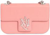 Alexander McQueen Medium Insignia Grained Leather Bag