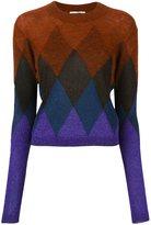 Marco De Vincenzo dégradé effect geometric sweater