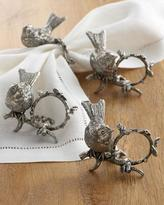 S4 Vagabond House Song Bird Napkin Rings