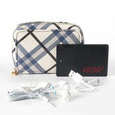 Apt. 9 Rfid-Blocking Phone Charging Carryall Wallet with Ear Buds