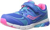 Stride Rite Saucony Girls Baby Zealot Sneaker (Toddler/Little Kid)