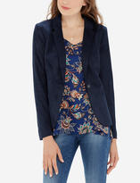 The Limited Faux Suede Blazer