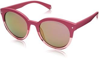 Polaroid Sunglasses Women's Pld6043s Polarized Oval Sunglasses