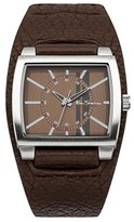 Ben Sherman Men's Quartz Watch with Brown Dial Analogue Display and Brown PU Cuff BS041