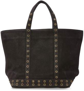 Vanessa Bruno Medium leather tote with eyelets