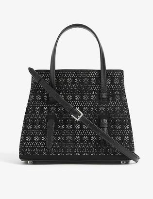 Azzedine Alaia Vienne studded leather top handle bag