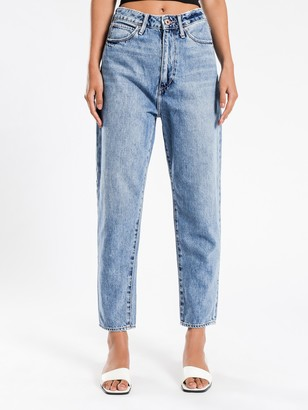 Articles of Society Charlotte Mom Jean in Dark Blue