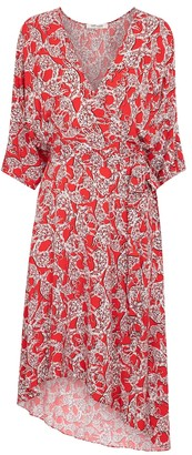 Diane von Furstenberg Eloise printed wrap dress