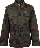 Off White Off-White Incompiuto Camou Military Jkt All Over S