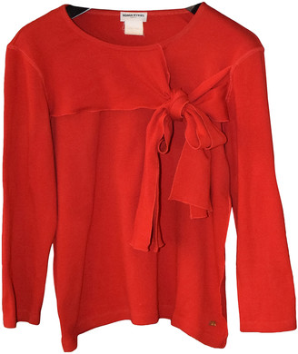 Sonia Rykiel Red Cotton Tops
