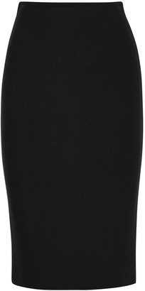 Roland Mouret May black stretch-knit pencil skirt