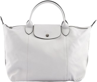 Longchamp Le Pliage Cuir Top Handle Bag