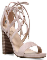 Franco Sarto Jewel Suede Strappy Sandals