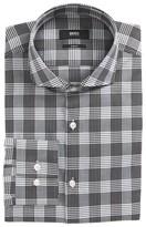 BOSS Men's Jason Slim Fit Plaid Dress Shirt