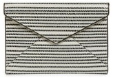 Rebecca Minkoff Leo Leather Clutch - Black