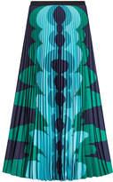 Mary Katrantzou Printed Pleated Skirt