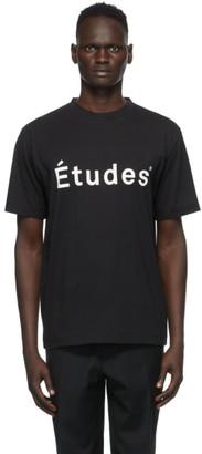 Études Black Wonder T-Shirt