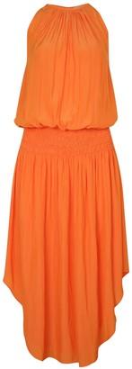 Ramy Brook Audrey Canor Orange Dress - XS