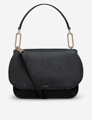 Smythson Concertina leather tote bag