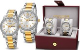 Akribos XXIV His & Hers Watch Gift Set