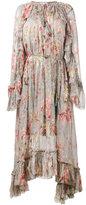 Zimmermann floral print long sleeve dress - women - Polyester/Spandex/Elastane/Silk - 1