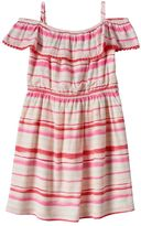 Girls 4-8 SONOMA Goods for LifeTM Striped Ruffle Dress