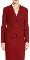 Classiques Entier 'Madrina' Double Breasted Wool Jacket (Regular & Petite)
